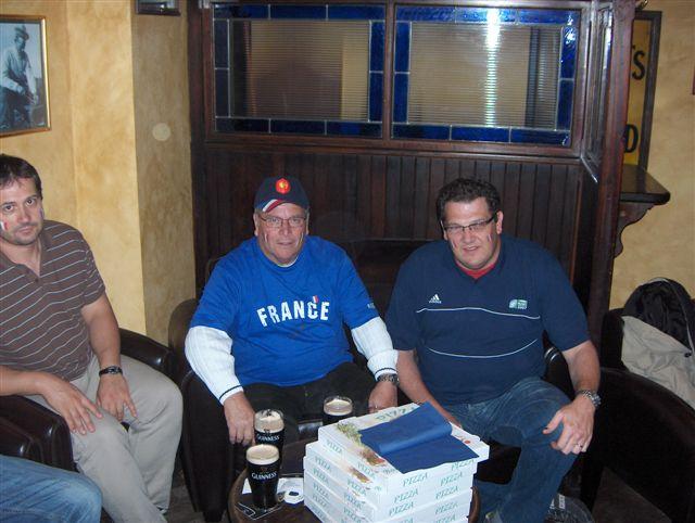 5 Guinness à 3 ... pour ToucH Alsace